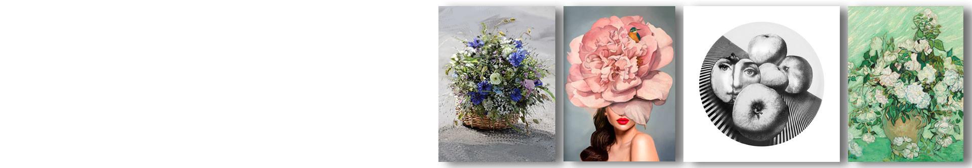 Eleganckie obrazy do jadalni w stylu glamour, piękne grafiki na płótnie do stylu skandynawskiego i prowansalskiego, obrazy do jadalni klasycznej i nowoczesnej.