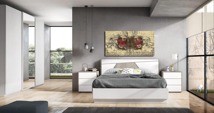 Obrazy do sypialni kwiaty -GrafikiObrazy.pl