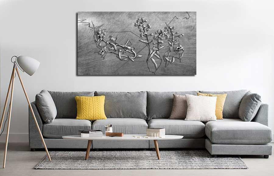 Obrazy z kwiatami nowoczesne - Grafiki Obrazy