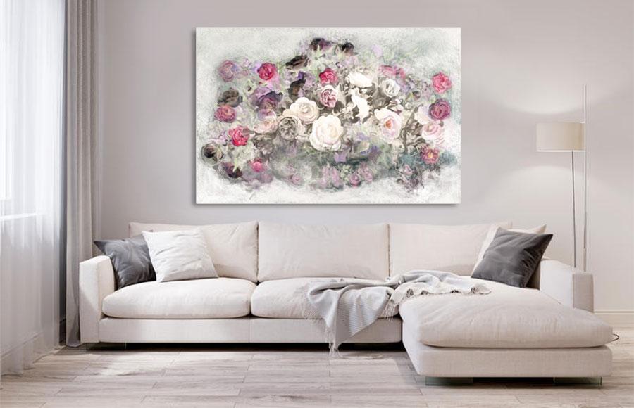 Obrazy do salonu kwiaty -GrafikiObrazy.pl
