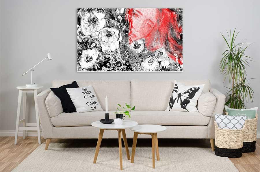 Obrazy na ścianę kwiaty -GrafikiObrazy.pl