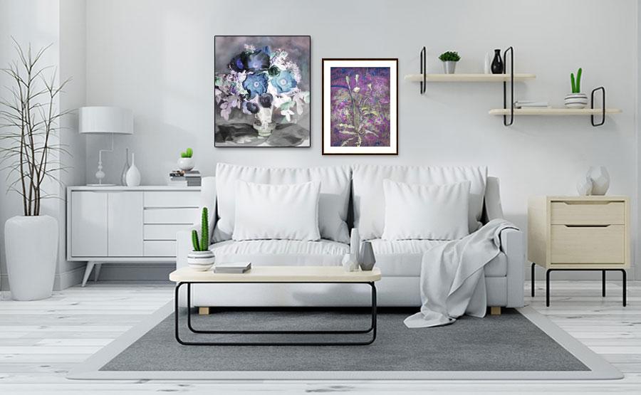 Obrazy plakaty kwiaty -GrafikiObrazy.pl