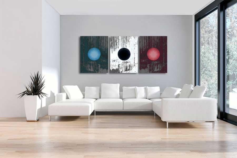 Obrazy abstrakcyjne nowoczesne - Grafiki Obrazy