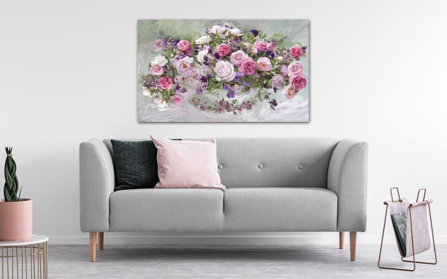 Obrazy do salonu róże -GrafikiObrazy.pl