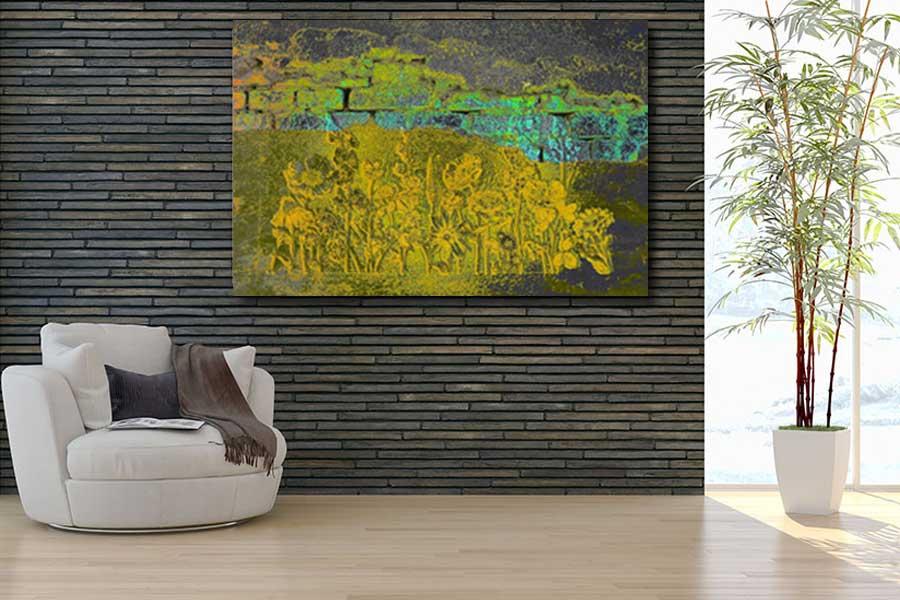 Obrazy do salonu w stylu loftowym - Grafiki Obrazy