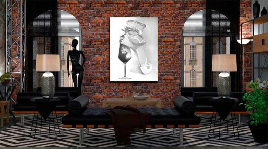 Obrazy industrialne, grafiki industrialne do salonu - Grafiki Obrazy