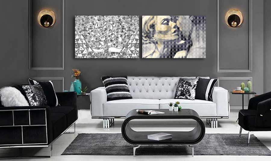 Obrazy w stylu art deco - Grafiki Obrazy