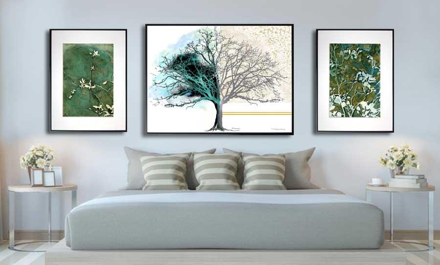 Plakaty do sypialni w ramie - Grafiki Obrazy